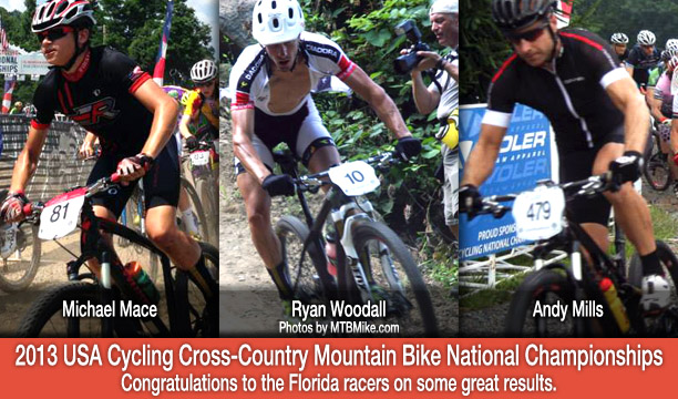 Florida Racer Results from the 2013 USA Cycling Cross-Country