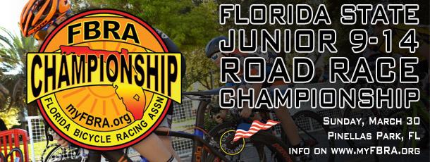 2014 Florida State Junior 9-14 Road Race Championship ...